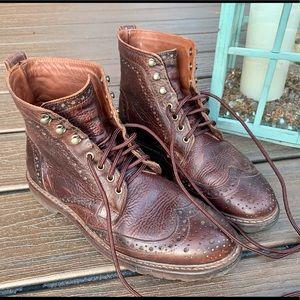 Allen Edmonds Wingtip Boots